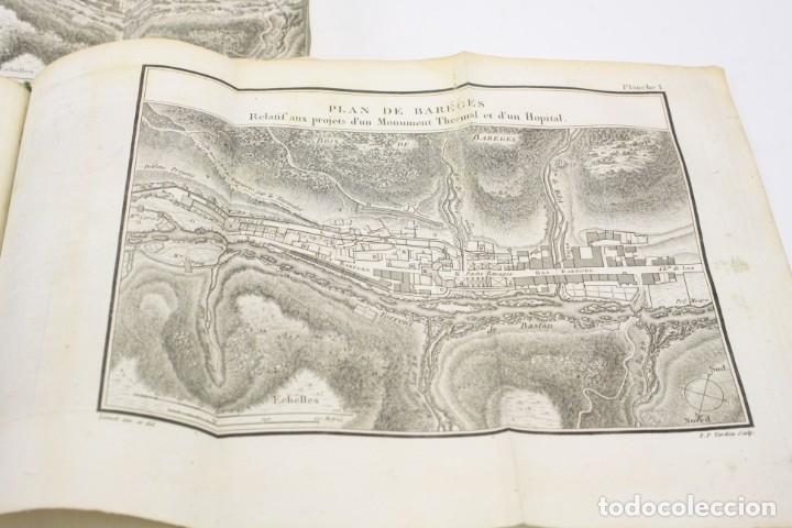 Libros antiguos: Mémoire sur les eaux minérales et les établissemens thermaux des Pyrénées, 1795, R. Vatar, Paris. - Foto 8 - 158027366