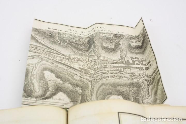 Libros antiguos: Mémoire sur les eaux minérales et les établissemens thermaux des Pyrénées, 1795, R. Vatar, Paris. - Foto 9 - 158027366