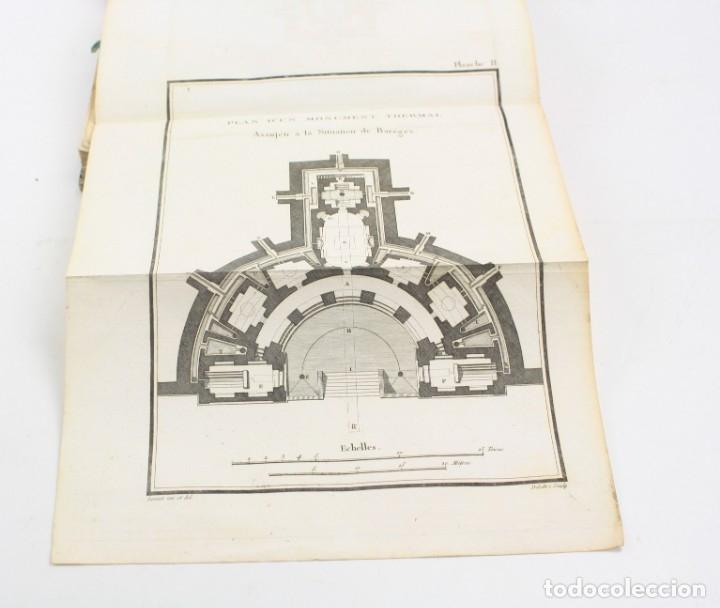 Libros antiguos: Mémoire sur les eaux minérales et les établissemens thermaux des Pyrénées, 1795, R. Vatar, Paris. - Foto 10 - 158027366