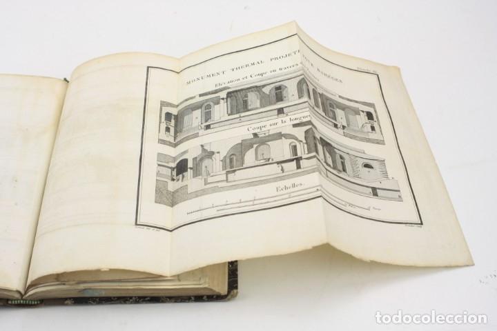 Libros antiguos: Mémoire sur les eaux minérales et les établissemens thermaux des Pyrénées, 1795, R. Vatar, Paris. - Foto 11 - 158027366