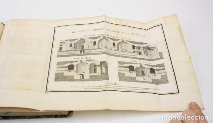 Libros antiguos: Mémoire sur les eaux minérales et les établissemens thermaux des Pyrénées, 1795, R. Vatar, Paris. - Foto 12 - 158027366