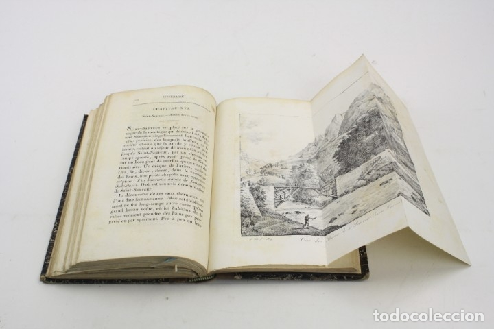 Libros antiguos: Mémoire sur les eaux minérales et les établissemens thermaux des Pyrénées, 1795, R. Vatar, Paris. - Foto 14 - 158027366