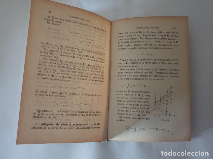 Libros antiguos: CALCULO GRAFICO Y NOMOGRAFIA 1914 M.D OCAGNE - Foto 4 - 159218110