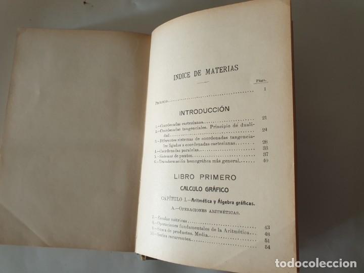 Libros antiguos: CALCULO GRAFICO Y NOMOGRAFIA 1914 M.D OCAGNE - Foto 5 - 159218110