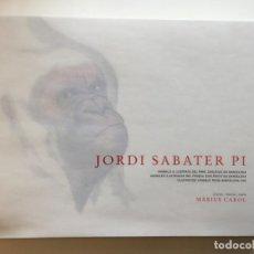 Libros antiguos: LIBRO ANIMALES ILUSTRADOS JORDI SABATER PI. Lote 159249234