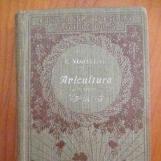 Libros antiguos: AVICULTURA. ENCICLOPEDIA AGRICOLA. - VOITELLIER, CARLOS.BARCELONA 1923. Lote 159752254