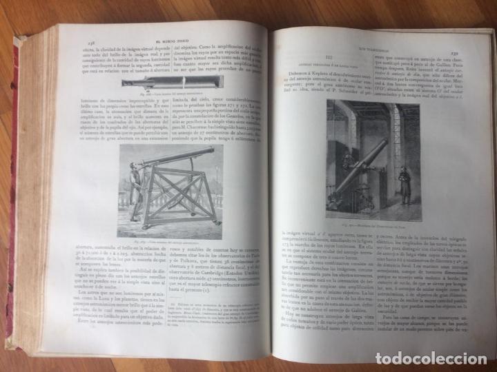 Libros antiguos: EL MUNDO FÍSICO - 5 TOMOS EN DOS VOLÚMENES (MONTANER Y SIMÓN, 1882-1885) - Foto 4 - 160475362