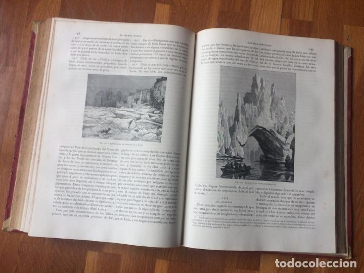 Libros antiguos: EL MUNDO FÍSICO - 5 TOMOS EN DOS VOLÚMENES (MONTANER Y SIMÓN, 1882-1885) - Foto 7 - 160475362