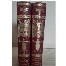 Libros antiguos: HISTORIA NATURAL / ODON DE BUEN / 2 TOMOS / MANUEL SOLER - BARCELONA FINALES SIGLO XIX. Lote 160524026