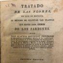 Libros antiguos: TRATADO DE LAS FLORES. MÉTODO DE CULTIVAR LAS PLANTAS. BOUTELOU, CLAUDIO. MADRID: 1827. Lote 160594982
