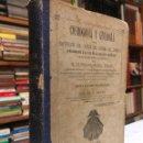 Libros antiguos: COSMOGONÍA Y GEOLOGÍA. EXPOSICIÓN DEL ORIGEN DEL SISTEMA DEL UNIVERSO. BARCELONA: 1878. ALMERA, J.. Lote 160595438