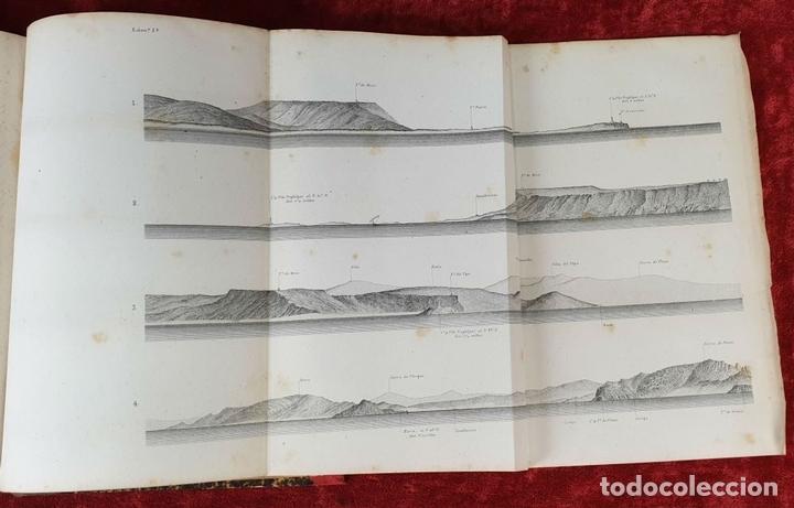 Libros antiguos: DERROTERO GENERAL DEL MEDITERRANEO. IMP. SALGADO. MADRID. 2 TOMOS. 1858/1873. - Foto 5 - 160918650