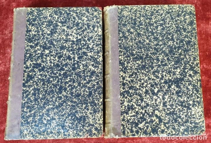 Libros antiguos: DERROTERO GENERAL DEL MEDITERRANEO. IMP. SALGADO. MADRID. 2 TOMOS. 1858/1873. - Foto 8 - 160918650