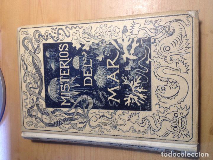 LOS MISTERIOS DEL MAR- S. XIX- 1891- (Libros Antiguos, Raros y Curiosos - Ciencias, Manuales y Oficios - Bilogía y Botánica)