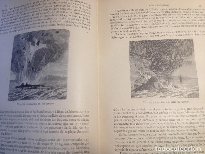 Libros antiguos: Los misterios del Mar- S. XIX- 1891- - Foto 5 - 161254066