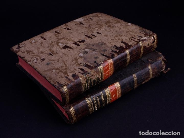 ELEMENTOS DE HISTORIA NATURAL Y DE QUÍMIDA. TOMOS PRIMERO Y SEGUNDO. SEGOVIA 1793 (Libros Antiguos, Raros y Curiosos - Ciencias, Manuales y Oficios - Física, Química y Matemáticas)