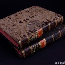 Libros antiguos: ELEMENTOS DE HISTORIA NATURAL Y DE QUÍMIDA. TOMOS PRIMERO Y SEGUNDO. SEGOVIA 1793. Lote 161646938