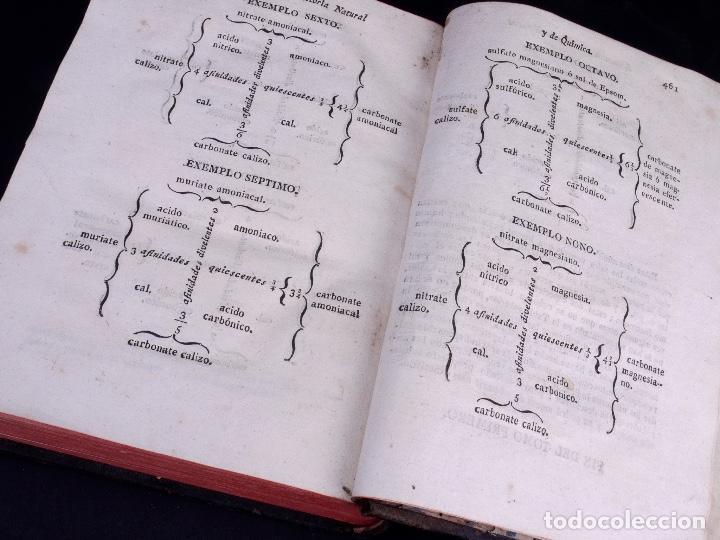 Libros antiguos: ELEMENTOS DE HISTORIA NATURAL Y DE QUÍMIDA. TOMOS PRIMERO Y SEGUNDO. SEGOVIA 1793 - Foto 7 - 161646938