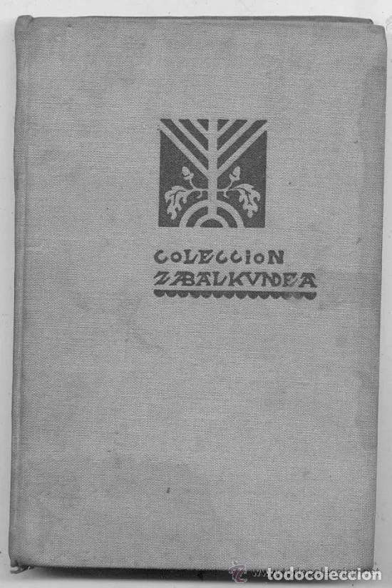 EL HOMBRE PRIMITIVO EN EL PAIS VASCO / JOSE MIGUEL DE BARANDIARAN // 1934 (Libros Antiguos, Raros y Curiosos - Ciencias, Manuales y Oficios - Paleontología y Geología)