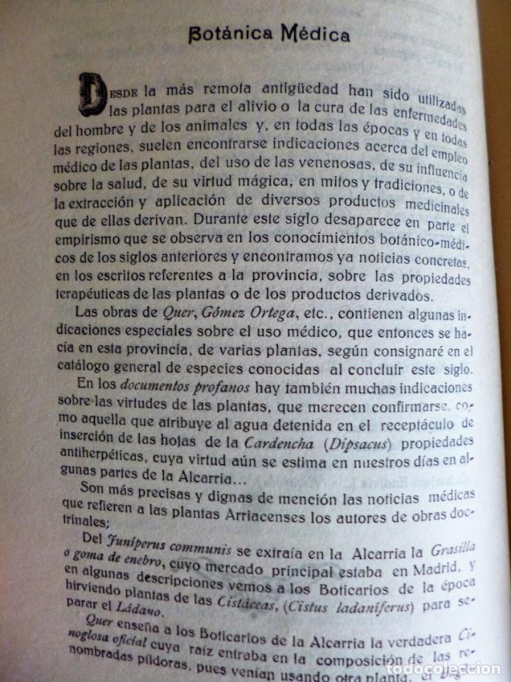 Libros antiguos: FLÓRULA ARRIACENSE. TOMO II.- RESUMEN HISTÓRICO CRÍTICO DE LOS TRABAJOS BOTÁNICOS ARRIACENSES… - Foto 5 - 162526298