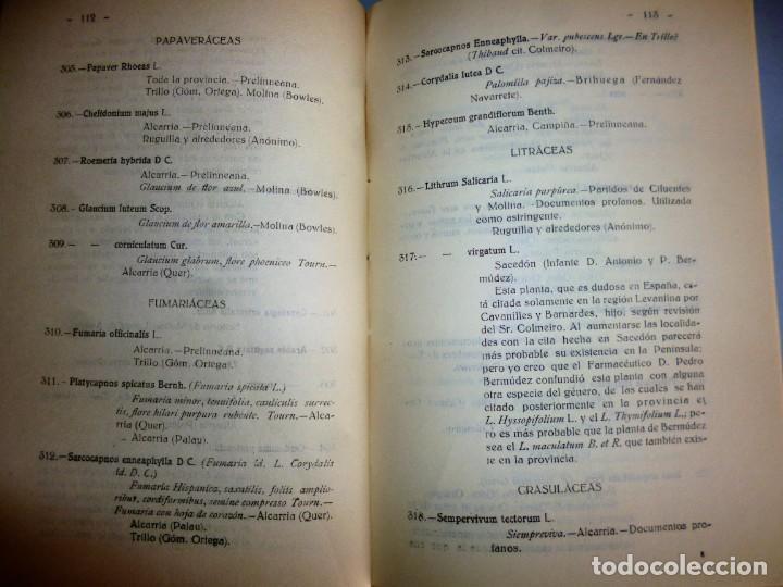 Libros antiguos: FLÓRULA ARRIACENSE. TOMO II.- RESUMEN HISTÓRICO CRÍTICO DE LOS TRABAJOS BOTÁNICOS ARRIACENSES… - Foto 6 - 162526298