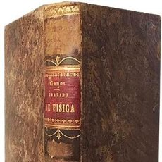 Libros antiguos: FÍSICA EXPERIMENTAL Y APLICADA, Y METEOROLOGÍA. (GANOT, 1876) PLENA PIEL. 935 GRABADOS EN MADERA. . Lote 162526370