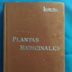 Libros antiguos: MANUAL SOLER ?41 ( PLANTAS MEDICINALES ) AÑO 1904. Lote 162713233