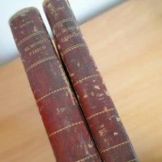 Libros antiguos: EL MUNDO FISICO. AMADEO GUILLEMIN. 2 VOLUMENES. TOMOS I A V (MONTANER Y SIMON, 1882-1884). Lote 162770102