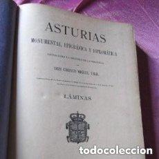 Libros antiguos: EPIGRAFIA ASTURIANA CIRIACO MIGUEL VIGIL AÑO 1887 .. Lote 162981702