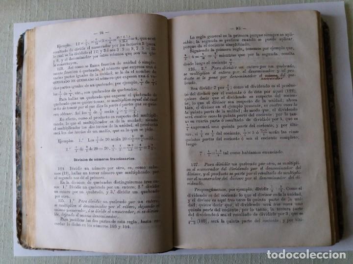 Libros antiguos: TRATADO DE ARITMÉTICA. ALEJANDRO PONTES Y FERNÁNDEZ. 1871. - Foto 6 - 163021298