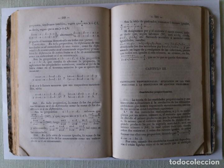 Libros antiguos: TRATADO DE ARITMÉTICA. ALEJANDRO PONTES Y FERNÁNDEZ. 1871. - Foto 7 - 163021298