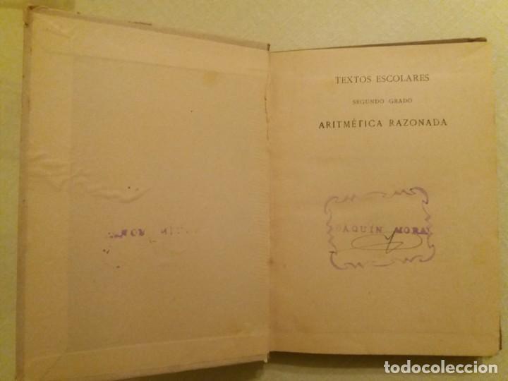 Libros antiguos: ARITMÉTICA RAZONADA. CALLEJA. 1916. - Foto 3 - 163362394