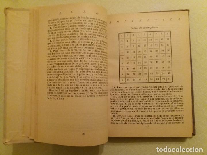 Libros antiguos: ARITMÉTICA RAZONADA. CALLEJA. 1916. - Foto 5 - 163362394
