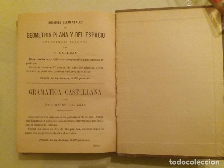 Libros antiguos: ARITMÉTICA RAZONADA. CALLEJA. 1916. - Foto 9 - 163362394