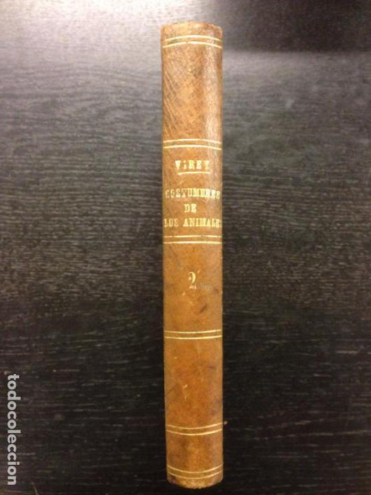 Libros antiguos: HISTORIA DEL INSTINTO Y COSTUMBRES DE LOS ANIMALES, VIREY, J.J., 1845 (TOMO 2) - Foto 2 - 163948798