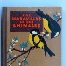 Libros antiguos: AGUSTÍN BALLVÉ // LAS MARAVILLAS DE LOS ANIMALES // SEIX BARRAL // 1931 // MUY BUEN ESTADO. Lote 164591138