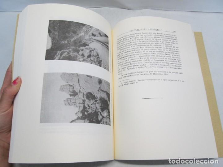 Libros antiguos: ESTUDIO SOBRE LA VEGETACION Y LA FLORA FORESTAL DE LA PROVINCIA DE MALAGA. LUIS CABALLOS. 1933 - Foto 13 - 164957490