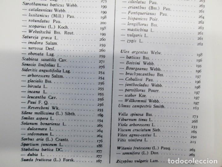 Libros antiguos: ESTUDIO SOBRE LA VEGETACION Y LA FLORA FORESTAL DE LA PROVINCIA DE MALAGA. LUIS CABALLOS. 1933 - Foto 21 - 164957490