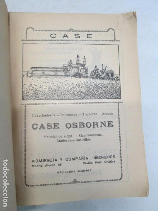 Libros antiguos: A. CENCELLI. G. LOTRIONTE. MAQUINAS AGRICOLAS. MANUAL PRACTICO PARA USO DE LOS AGRICULTORES. 1929 - Foto 7 - 165094310