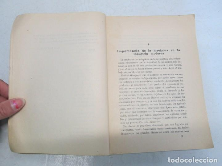 Libros antiguos: A. CENCELLI. G. LOTRIONTE. MAQUINAS AGRICOLAS. MANUAL PRACTICO PARA USO DE LOS AGRICULTORES. 1929 - Foto 9 - 165094310