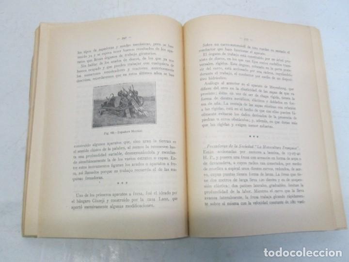 Libros antiguos: A. CENCELLI. G. LOTRIONTE. MAQUINAS AGRICOLAS. MANUAL PRACTICO PARA USO DE LOS AGRICULTORES. 1929 - Foto 13 - 165094310