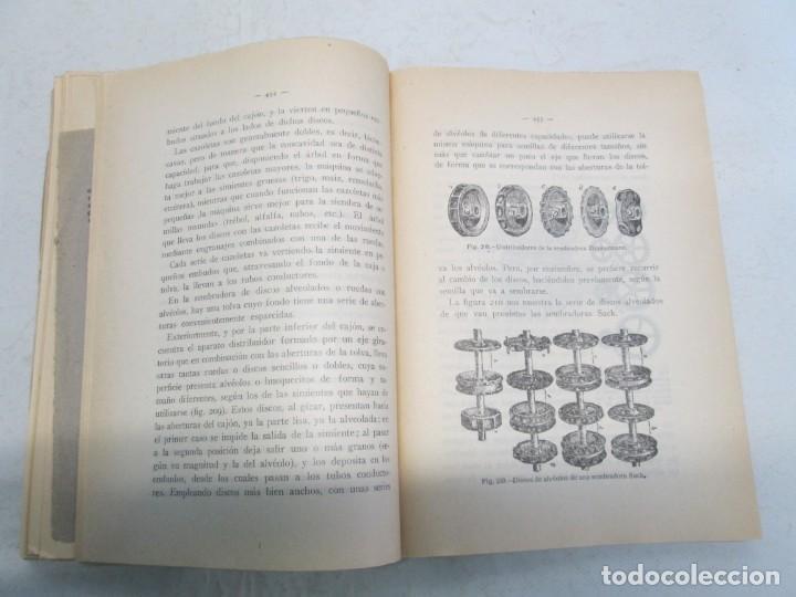 Libros antiguos: A. CENCELLI. G. LOTRIONTE. MAQUINAS AGRICOLAS. MANUAL PRACTICO PARA USO DE LOS AGRICULTORES. 1929 - Foto 14 - 165094310