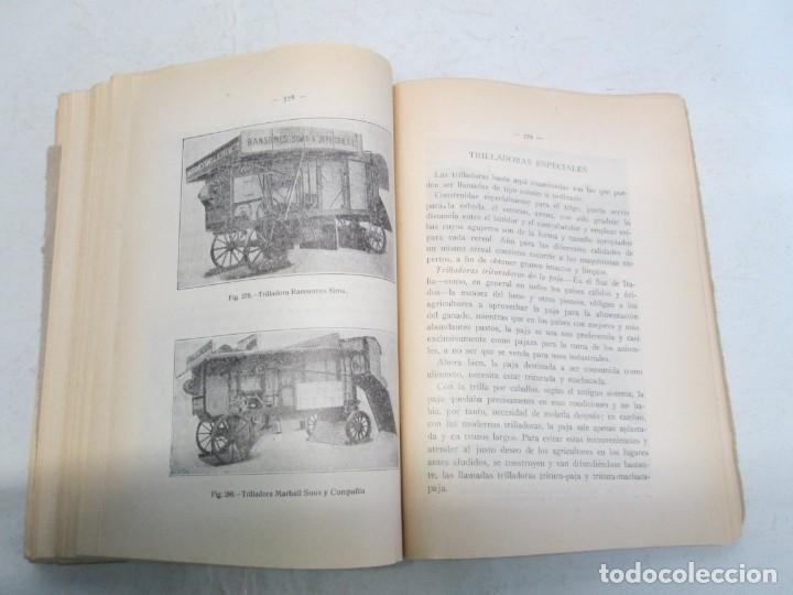Libros antiguos: A. CENCELLI. G. LOTRIONTE. MAQUINAS AGRICOLAS. MANUAL PRACTICO PARA USO DE LOS AGRICULTORES. 1929 - Foto 15 - 165094310