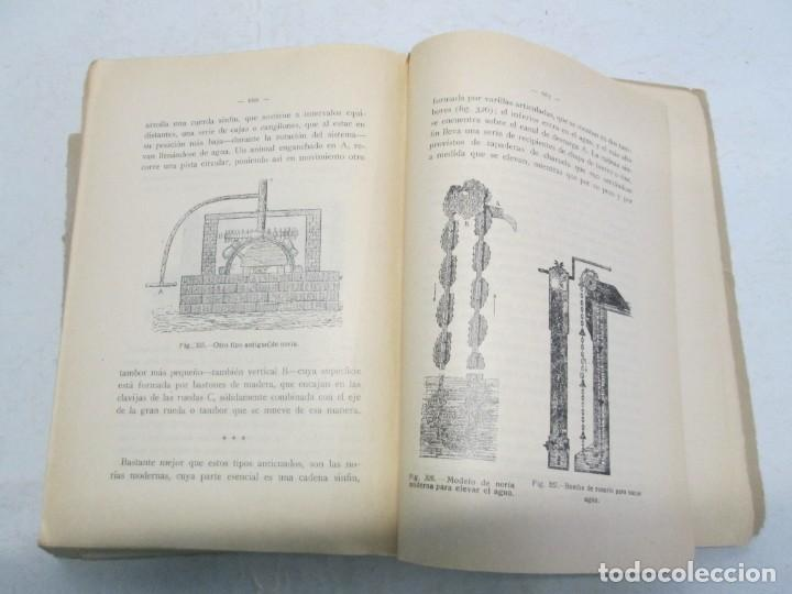 Libros antiguos: A. CENCELLI. G. LOTRIONTE. MAQUINAS AGRICOLAS. MANUAL PRACTICO PARA USO DE LOS AGRICULTORES. 1929 - Foto 16 - 165094310