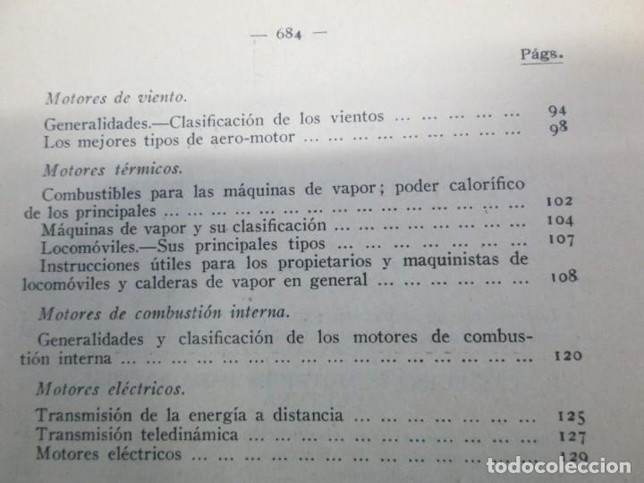 Libros antiguos: A. CENCELLI. G. LOTRIONTE. MAQUINAS AGRICOLAS. MANUAL PRACTICO PARA USO DE LOS AGRICULTORES. 1929 - Foto 18 - 165094310