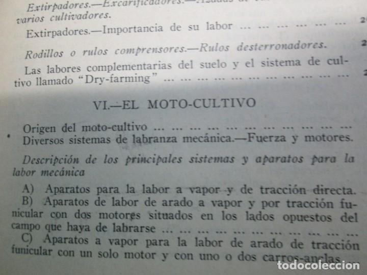 Libros antiguos: A. CENCELLI. G. LOTRIONTE. MAQUINAS AGRICOLAS. MANUAL PRACTICO PARA USO DE LOS AGRICULTORES. 1929 - Foto 21 - 165094310