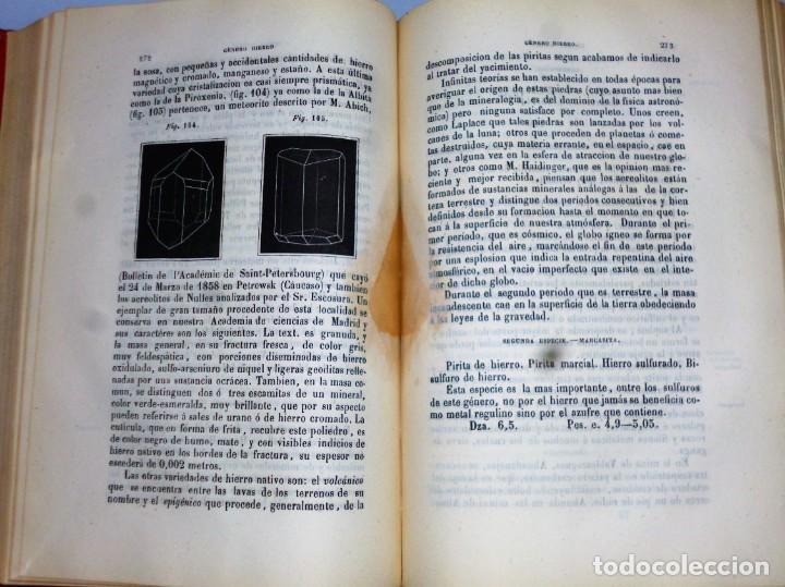 Libros antiguos: ELEMENTOS DE MINERALOGÍA GENERAL, INDUSTRIAL Y AGRÍCOLA - Foto 4 - 165275078