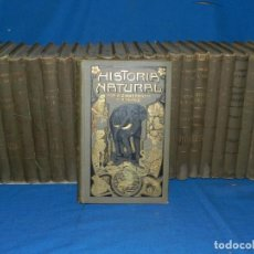Libros antiguos: (M1.9) HISTORIA NATURAL POR K ZIMMERMANN, TRADUCIDA POR J AMBROSIO PEREZ 1915, COMPLETA, GASSO HERMA. Lote 165452394