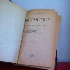 Libros antiguos: LECCIONES DE ARITMÉTICA. 1921 BERNARDINO SÁNCHEZ VIDAL. Lote 166011244