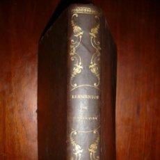 Libros antiguos: ELEMENTOS DE AGRICULTURA MARIANO SERRA Y NAVARRO 1878 JAEN 1ª EDICION. Lote 166053074
